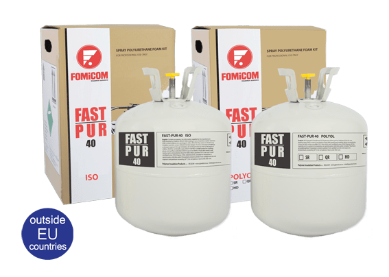 Fast-Pur 40 spray foam insulation