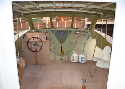 Boat insulation using spray foam