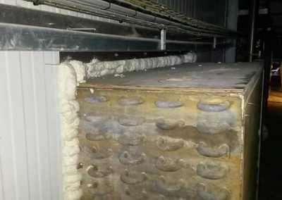 Airtight sealing with spray foam insulation